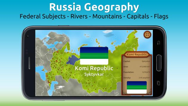 GeoExpert - Russia Geography poster