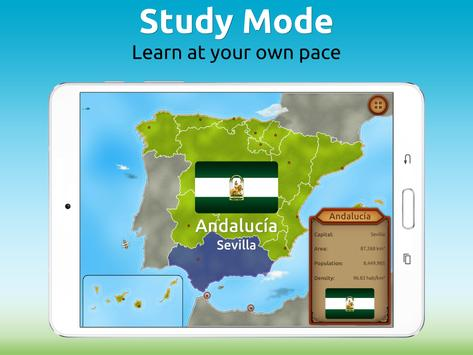 GeoExpert - Spain Geography screenshot 9