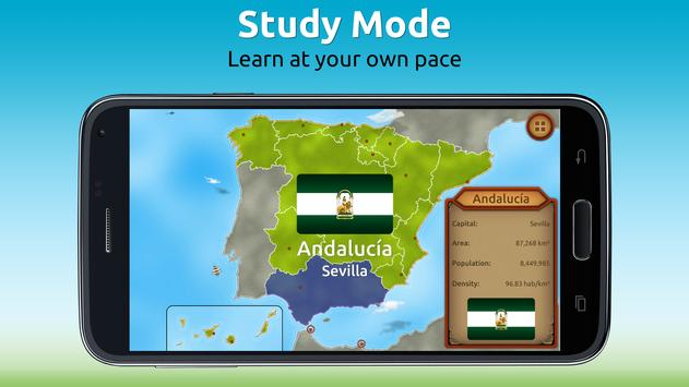 GeoExpert - Spain Geography screenshot 2