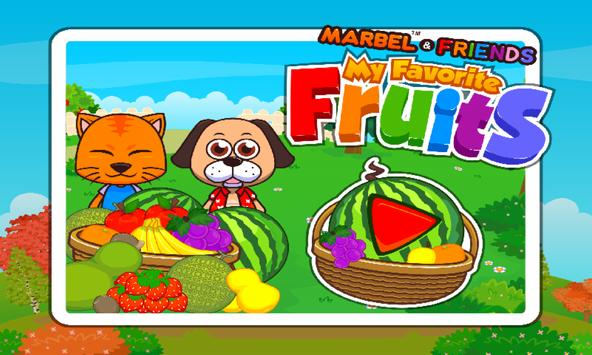 Marbel My Favourite Fruits poster