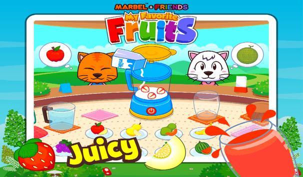 Marbel My Favourite Fruits screenshot 13