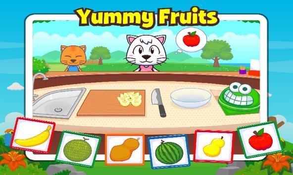Marbel My Favourite Fruits screenshot 2