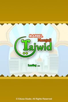Marbel Mengaji Tajwid poster