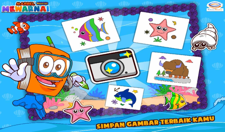 Marbel Mewarnai Hewan Laut For Android Apk Download