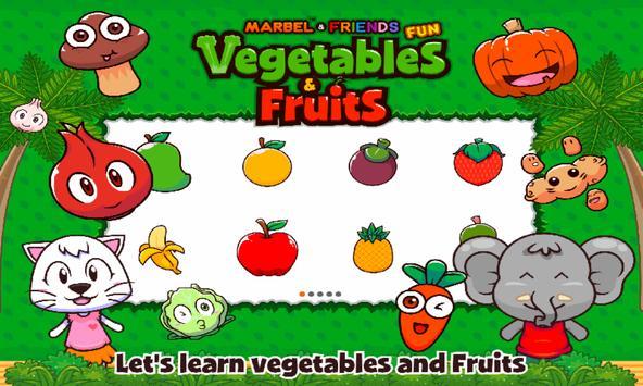 Marbel Fun Vegetable and Fruits screenshot 1
