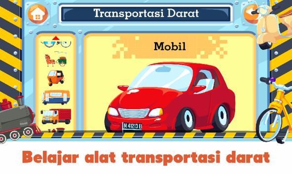 Marbel Transportasi - Belajar Sambil Bermain screenshot 1