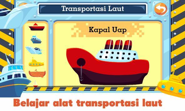 Marbel Transportasi - Belajar Sambil Bermain screenshot 8