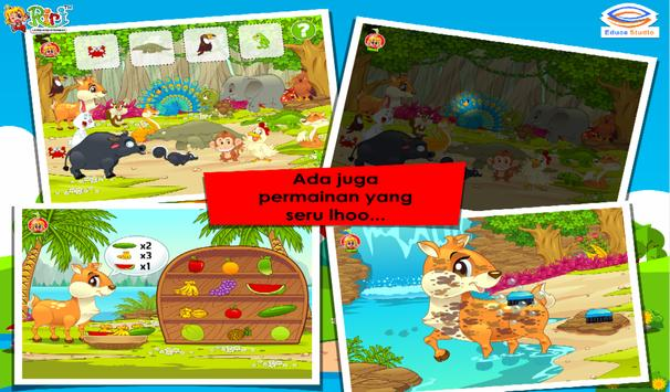 Cerita Anak: Kancil dan Merak Berekor Indah screenshot 11
