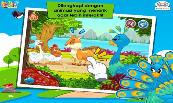 Cerita Anak: Kancil dan Merak Berekor Indah screenshot 2