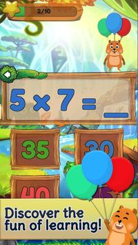 Table De Multiplication Entre Amis - Jeu de maths capture d'écran 1