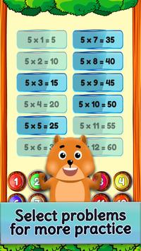 Table De Multiplication Entre Amis - Jeu de maths capture d'écran 6