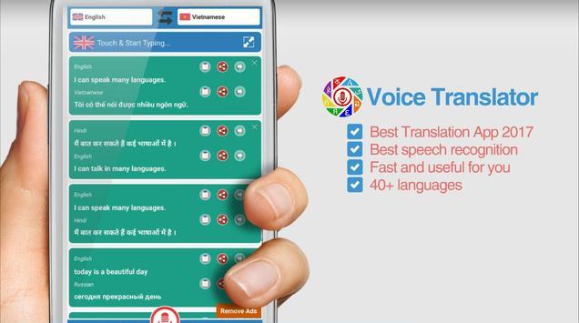 Voice Translator poster