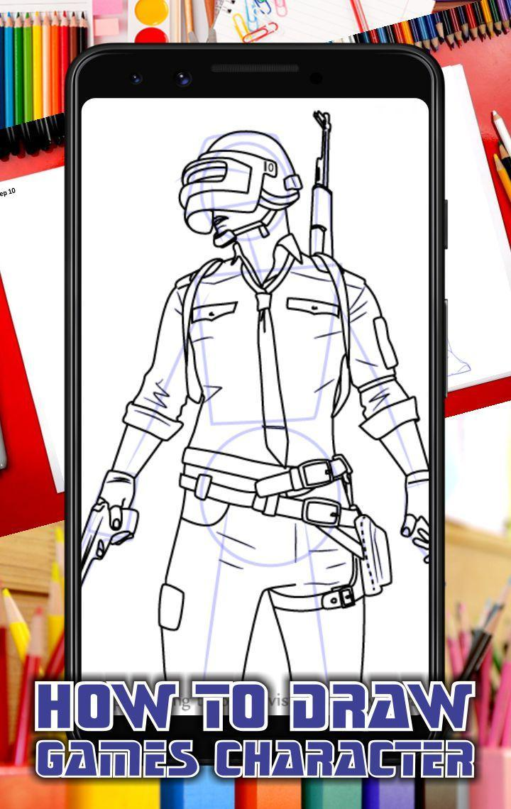 How To Draw Games Character for Android - APK Download