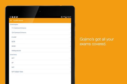 Gojimo screenshot 5