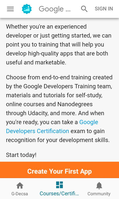 G-Decsa Learn Coding for Android - APK Download