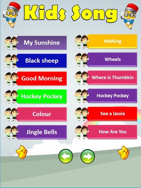 English Kids Songs - Kids Offline Song for Android - APK