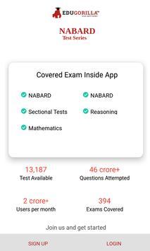 NABARD Exam: Free Online Mock Tests poster