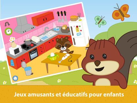 Jeux Éducatifs. Mémoire Affiche