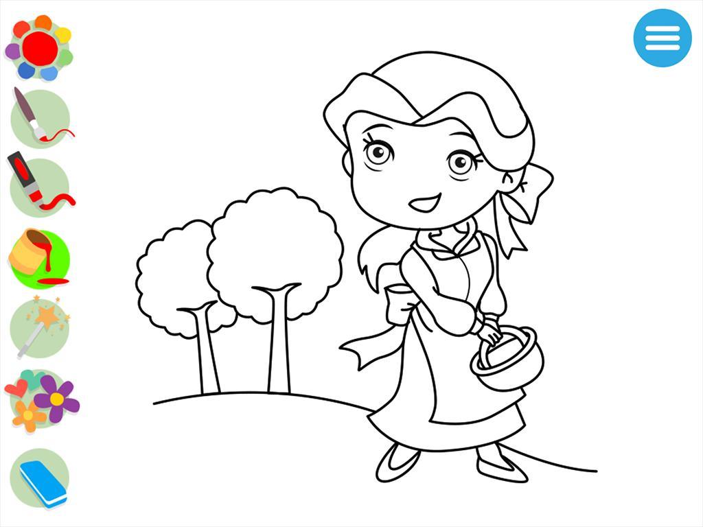 Juego De Pintar Princesas For Android Apk Download