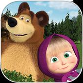 Masha y el oso - Juegos educativos icono
