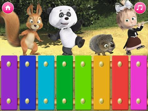 Masha y el oso - Juegos educativos captura de pantalla 19