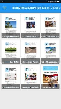 BS Bahasa Indonesia Kelas 7 K13 Revisi 2017 poster
