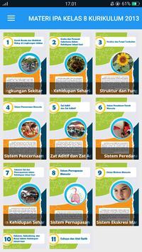 Materi IPA Kelas 8 Kurikulum 2013 screenshot 14