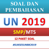 Soal dan Pembahasan UN SMP 2019 icon