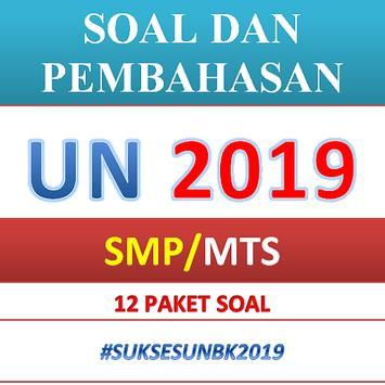 Soal dan Pembahasan UN SMP 2019 poster