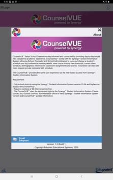CounselVUE syot layar 1