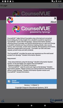 CounselVUE syot layar 4