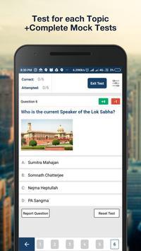 UPSC 2019: IAS/UPSC Prelims MOCK Test Preparation screenshot 5
