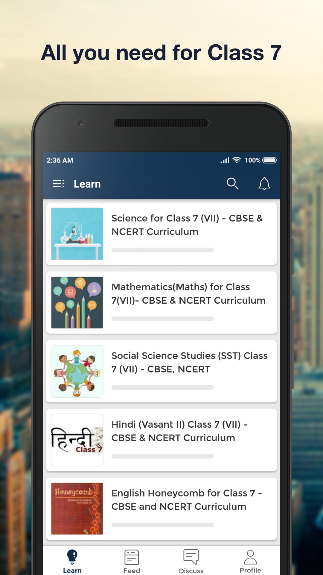 CBSE Class 7: NCERT Solutions & Book Questions for Android - APK