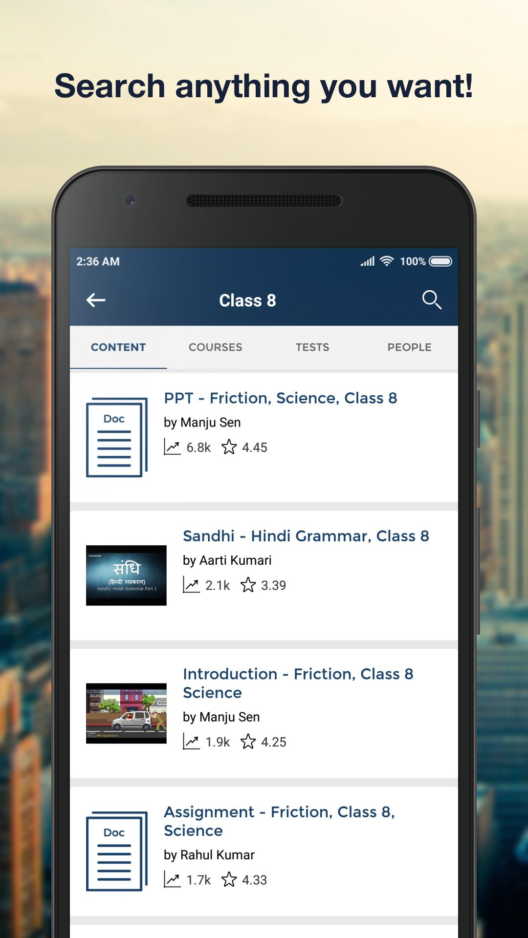 CBSE Class 8: NCERT Solutions & Book Questions for Android - APK