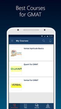 GMAT 2021 prep App-Aptitude Verbal Mock Test Paper скриншот 1