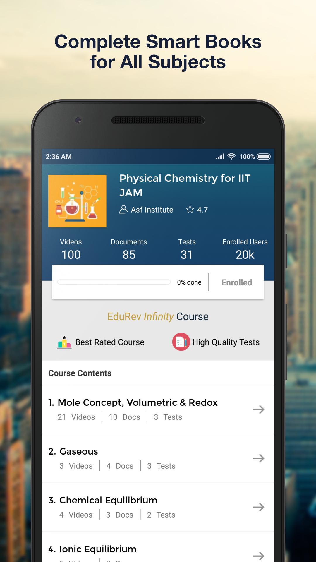 IIT JAM 2020, CSIR NET, GATE Chemistry preparation for Android - APK