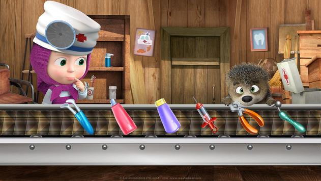 Masha and the Bear: Free Dentist Games for Kids screenshot 8