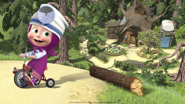 Masha and the Bear: Free Dentist Games for Kids screenshot 9