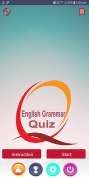 English Grammar Quiz 2019 poster