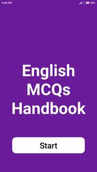 English Handbook poster