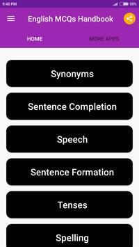English Handbook screenshot 1