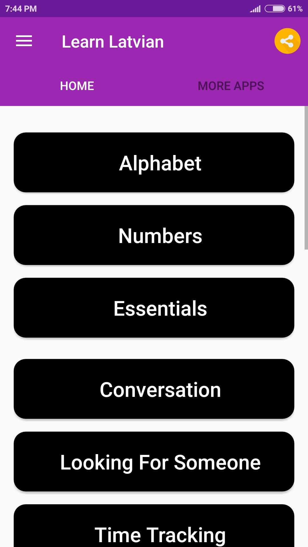 Learn Latvian for Android - APK Download
