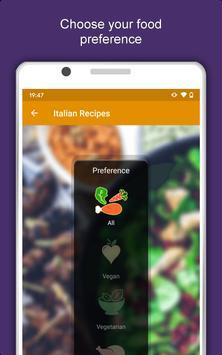 All Italian Food Recipes Offline: Healthy Cuisine 스크린샷 8