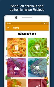 All Italian Food Recipes Offline: Healthy Cuisine 스크린샷 9