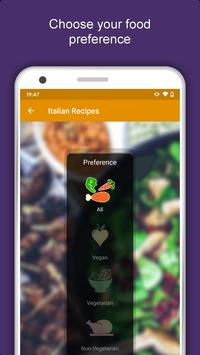 All Italian Food Recipes Offline: Healthy Cuisine 포스터