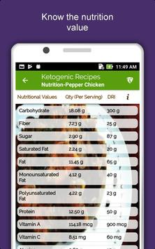 Keto Diet Recipes: Low Carb Meal, Weight Loss Plan screenshot 14