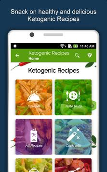 Keto Diet Recipes: Low Carb Meal, Weight Loss Plan screenshot 17