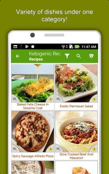 Keto Diet Recipes: Low Carb Meal, Weight Loss Plan screenshot 12