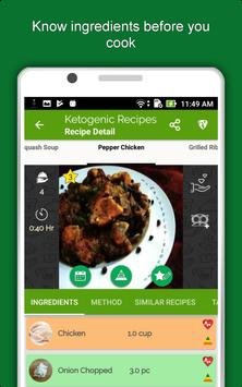 Keto Diet Recipes: Low Carb Meal, Weight Loss Plan screenshot 21
