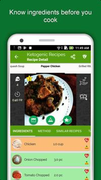 Keto Diet Recipes: Low Carb Meal, Weight Loss Plan screenshot 5